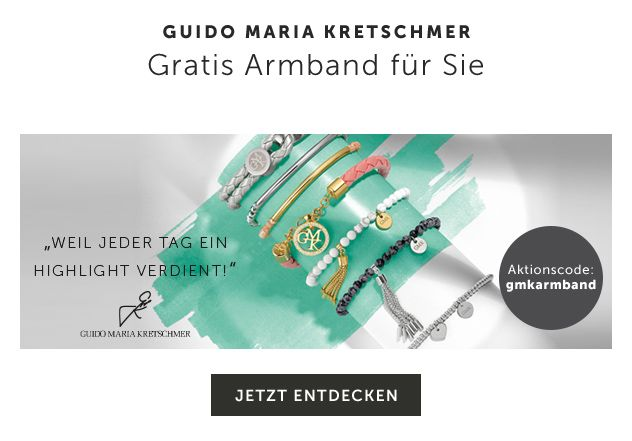 Fashion Days Guido Maria Kretschmer gratis Armband