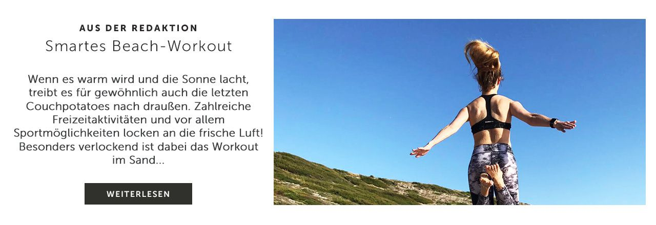 Smartwatches Beachworkout