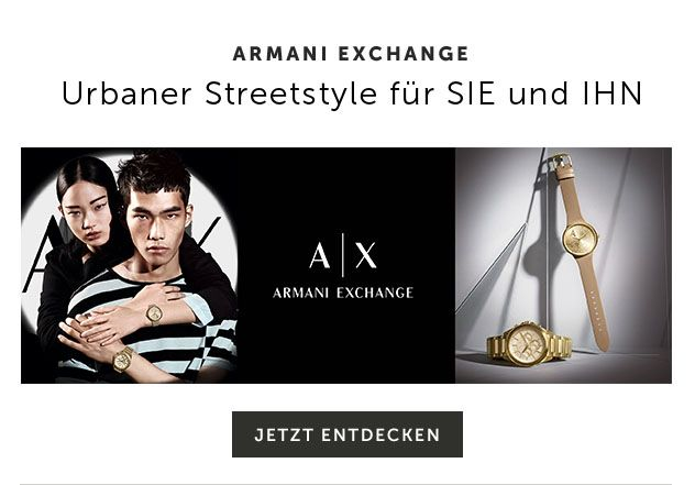 Armani Exchange Uhren