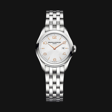 Baume & Mercier Damenuhr Clifton M0A10175