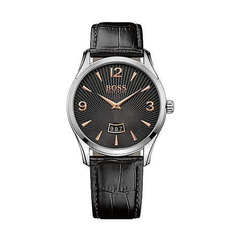 BOSS Herrenuhr Commander 1513425