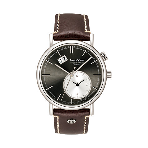 Bruno Söhnle Herrenuhr Lago  GMT 17-13156-841
