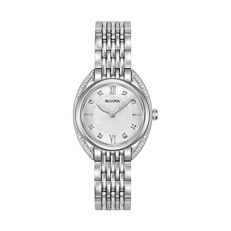 Bulova Damenuhr Diamonds 96R212