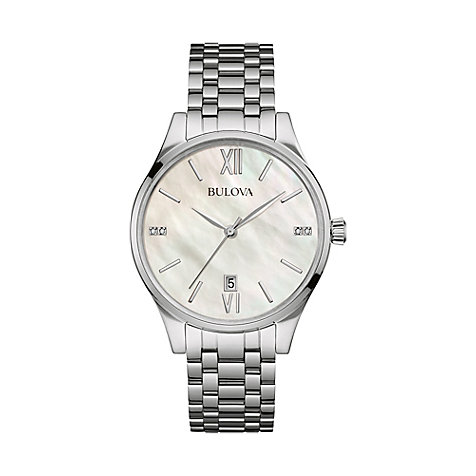 Bulova Damenuhr Diamonds 96S161