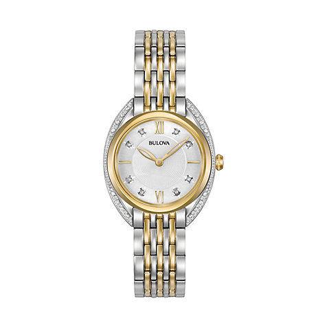 Bulova Damenuhr Diamonds 98R229
