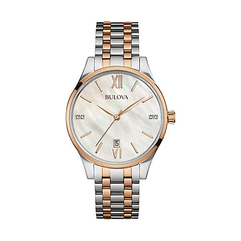 Bulova Damenuhr Diamonds 98S150