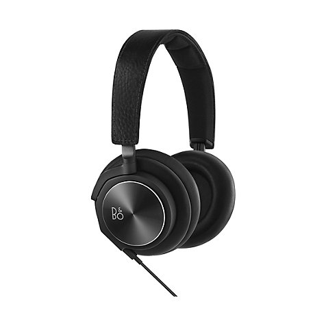B&O PLAY by Bang & Olufsen Beoplay H6 On-Ear Kopfhörer, Schwarz (Leder) 1642926