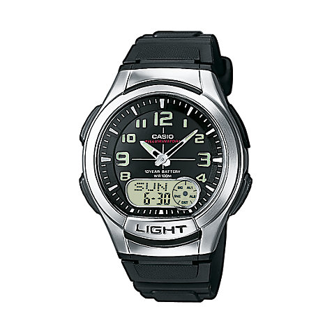 Casio Collection Herrenchronograph AQ-180W-1BVES