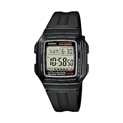 Casio Collection Herrenuhr F-201WA-1AEF