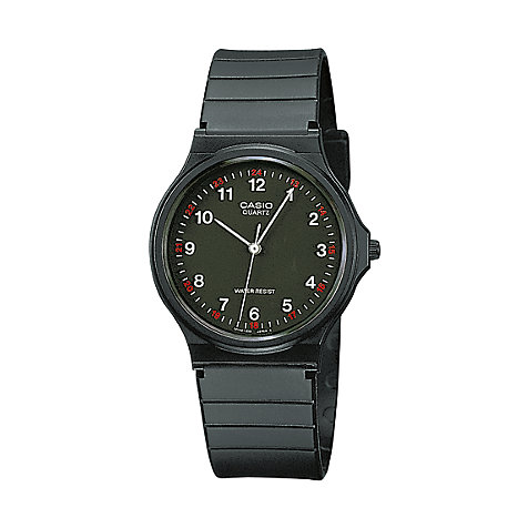 Casio Collection Herrenuhr  MQ-24-1BLLGF