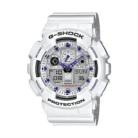 Casio G-SHOCK Classic Herrenchronograph GA-100A-7AER
