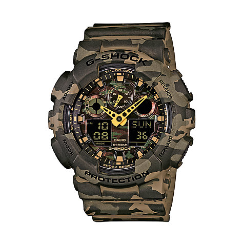 Casio G-SHOCK Style Series Herrenuhr GA-100CM-5AER