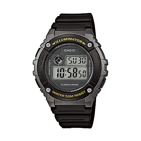 Casio Collection Herrenchronograph W-216H-1BVEF