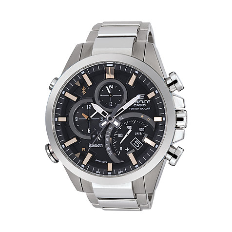 Casio EDIFICE Premium Herrenuhr Bluetooth EQB-500D-1A2ER