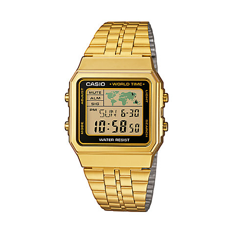 Casio Collection Herrenuhr A500WEGA-1EF