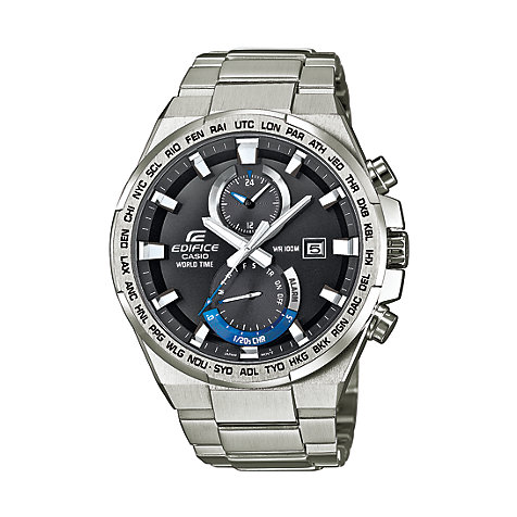 Casio Herrenuhr EDIFICE Premium EFR-542D-1AVUEF