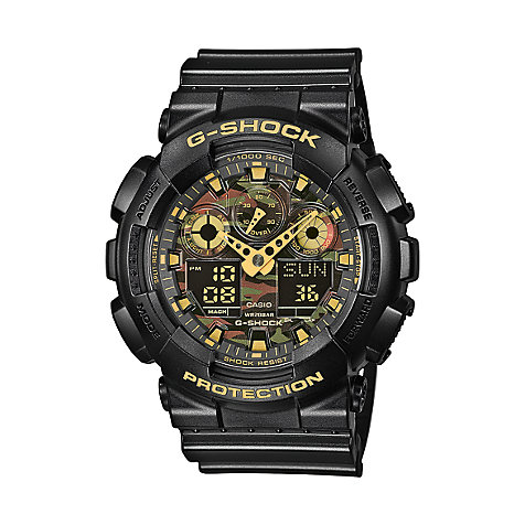 Casio Herrenuhr G-SHOCK GA-100CF-1A9ER