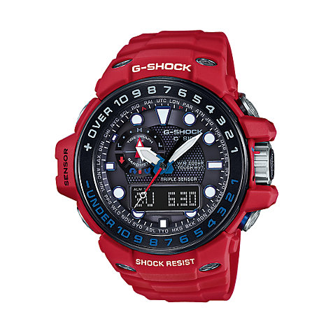 Casio G-SHOCK Premium Superior Series Herrenuhr GWN-1000RD-4AER