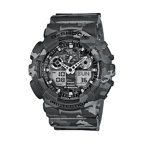Casio G-SHOCK Style Series Herrenuhr GA-100CM-8AER