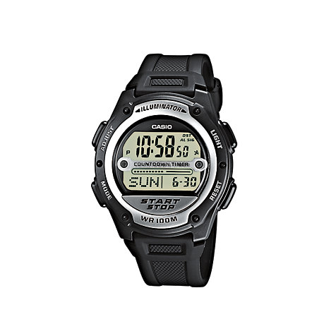 Casio Collection Herrenuhr W-756-1AVES