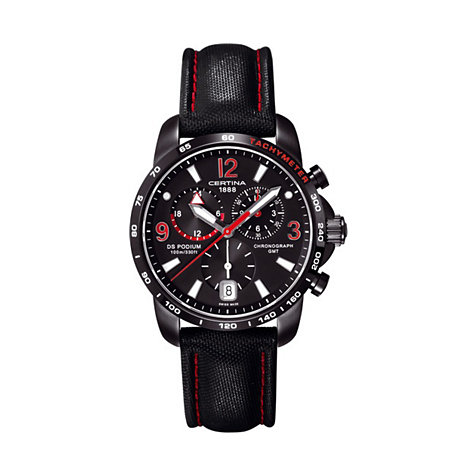 CERTINA DS PODIUM C001.639.16.057.02 GMT Chrono