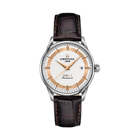 Certina Herrenuhr DS-1 Powermatic 80 Himalya C0298071603160