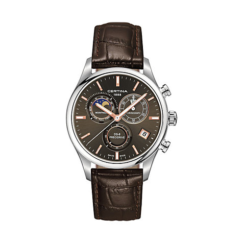CERTINA Chronograph  Mondphase C0334501608100