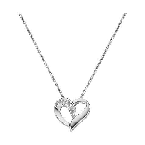 CHRIST Silver Diamonds Collier
