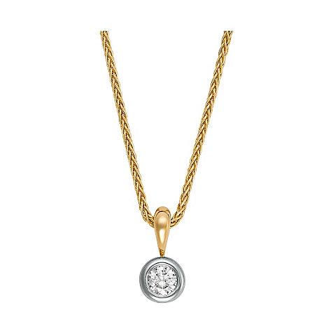 CHRIST Solitaire Collier 83213191