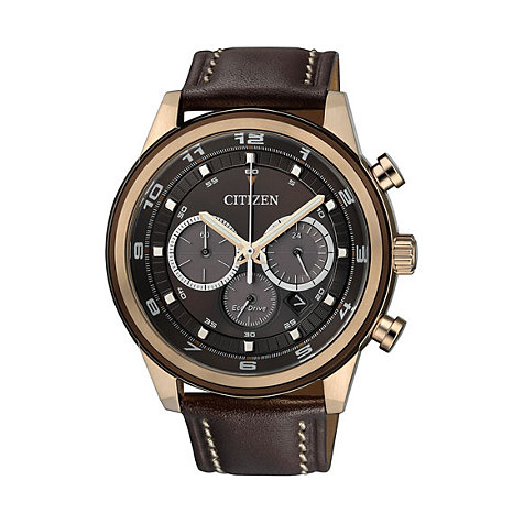 Citizen Eco Drive Herrenchronograph Sports CA4037-01W