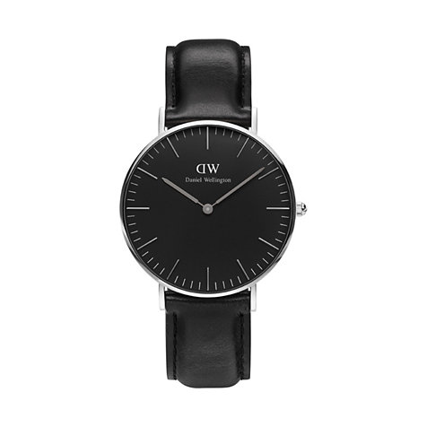 Daniel Wellington Damenuhr Classic Black Sheffield DW00100145