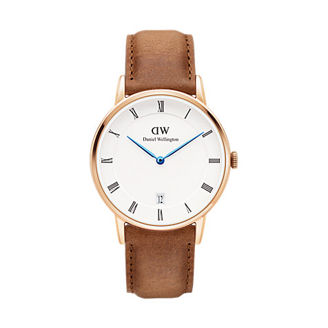 Daniel Wellington Herrenuhr Dapper Collection Durham DW00100115