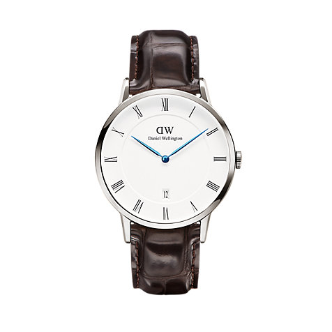 Daniel Wellington Herrenuhr Dapper York, Silver DW00100089
