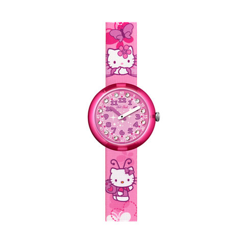 Flik Flak Kinderuhr Hello Kitty Butterfly FLNP005