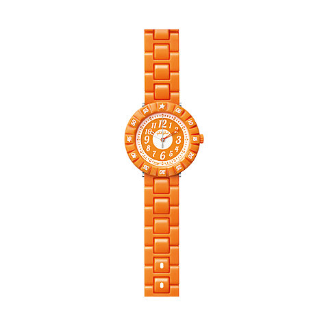 Flik Flak Kinderuhr Orange Color Shake FCSP001