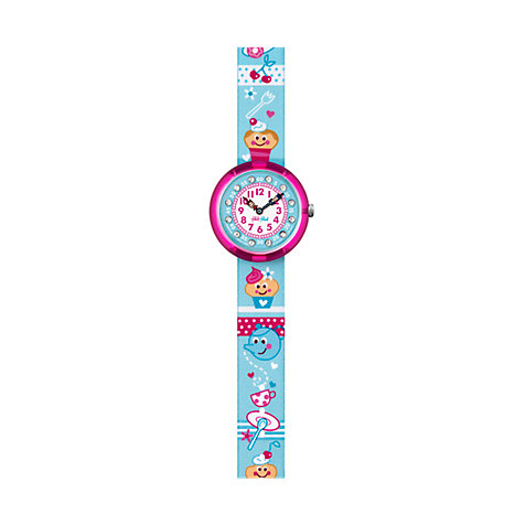 Flik Flak Kinderuhr Tea Fun FBNP042