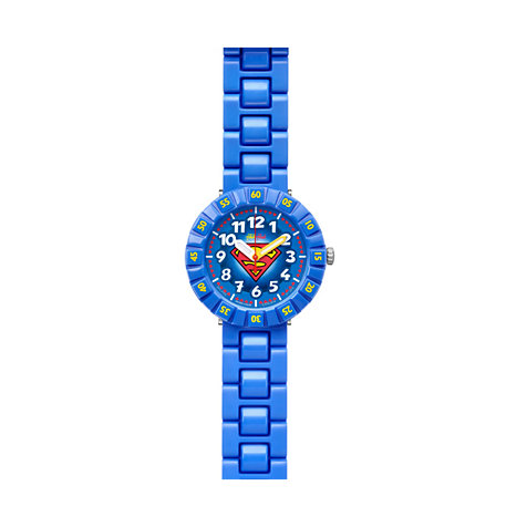Flik Flak Kinderuhr Superman FFLP002