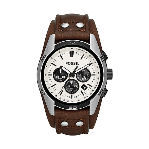 Fossil Herrenchronograph CH2890