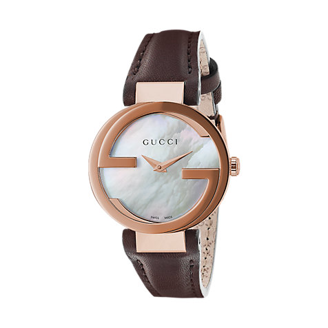 Gucci Damenuhr Interlocking YA133516