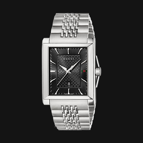 Gucci Herrenuhr Timeless Rectangle YA138401