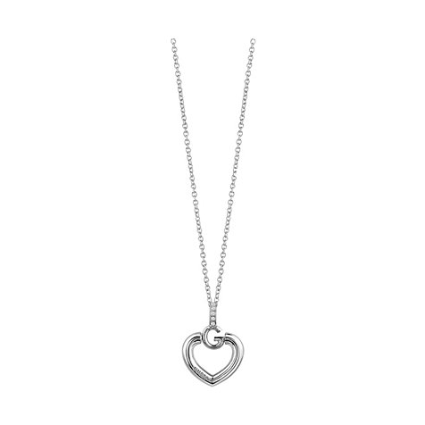 Guess Kette Heart Neck JUBN83009JW