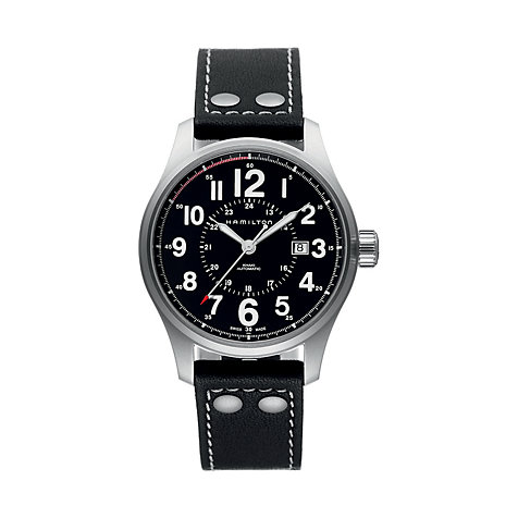Hamilton Herrenuhr Khaki Officer H70615733