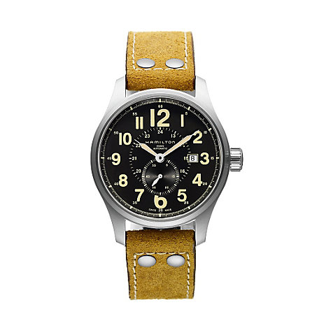 Hamilton Herrenuhr Khaki Officer H70655733