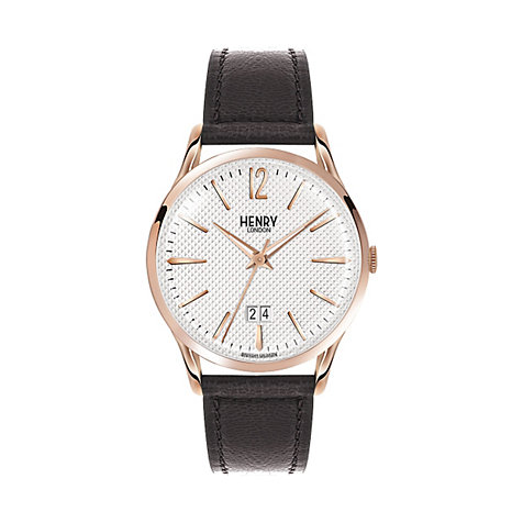 Henry London Herrenuhr Richmond HL41-JS-0038