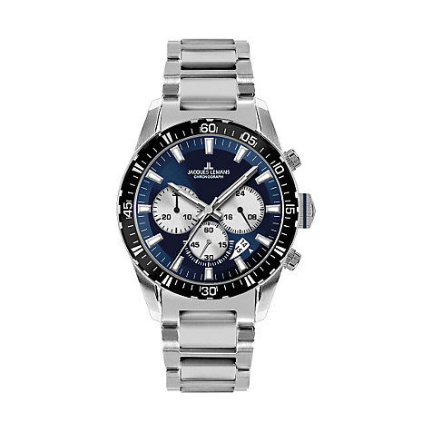 Jacques Lemans Herrenchronograph Montreal 1-1801I