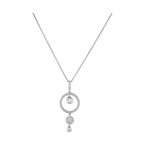 JETTE Silver Collier Brillant 86508737