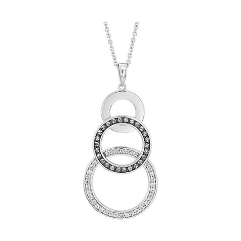 JETTE Silver Collier Circle 86577704
