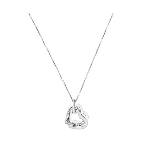 JETTE Silver Collier Moments of Love 86878526