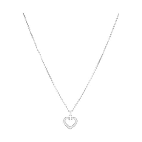 JETTE Silver SACRED HEART Collier 86110636