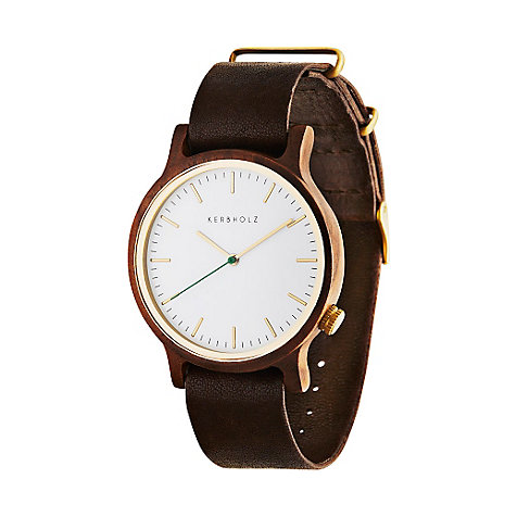 Kerbholz Herrenuhr Walter Walnut Tanned Brown WATWWAL9899